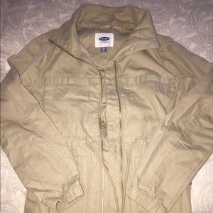 Old Navy Khaki Fall Jacket